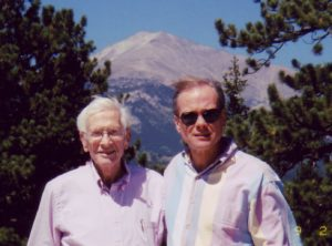 Roger K. Allen and his father C. Kay Allen