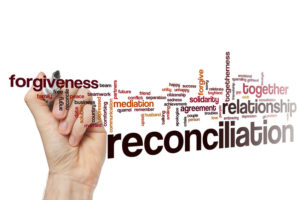 Reconciliation and conflict resolution