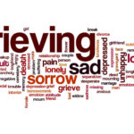 grieving word cloud