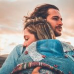 a couple embracing in a positive connection