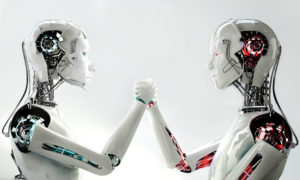 Robots representing differences between men and women
